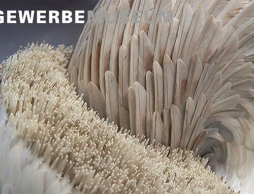 Gli aquiloni del museo in mostra al Gewerbemuseum di Winterthur in Svizzera